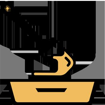 Calentar el aceite con la margarina Sello de Oro