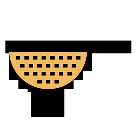 Cernir la harina junto con el polvo para hornear