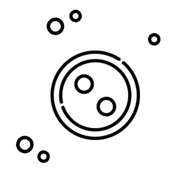 Icono de un botón