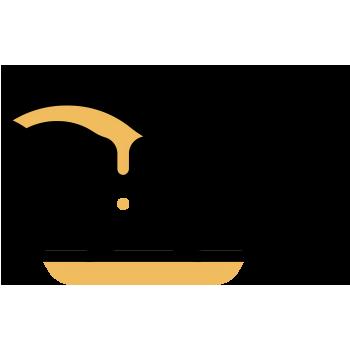 recipiente para salsa