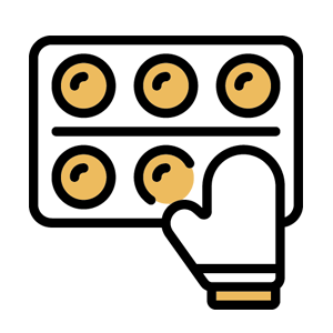 Dar forma a las croquetas