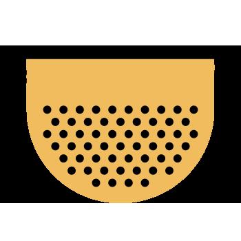 Cernir harina y polvo