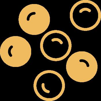 icono bolitas de trufa