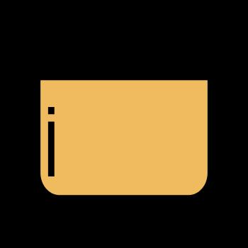 icono mezclar con cuchara
