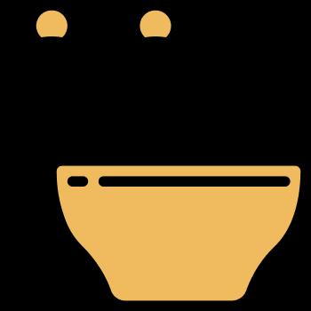 icono de recipientes de sal y pimienta