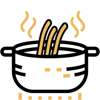 sancochar fettuccini