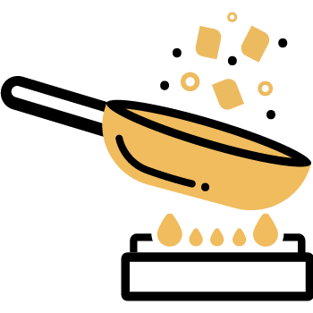 saltear los trozos de pavita