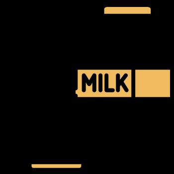 Icono avena y leche