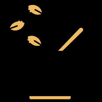 icono de un bowl con hierbas