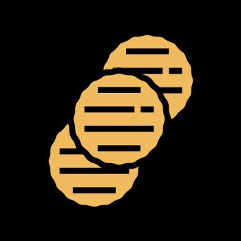 Icono de hamburguesas