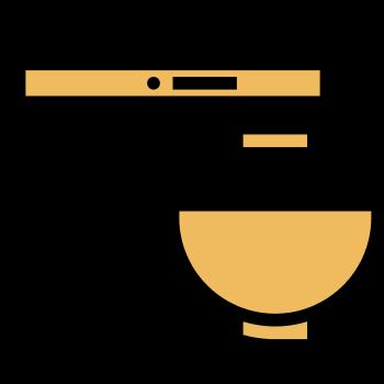 Icono de una batidora eléctrica