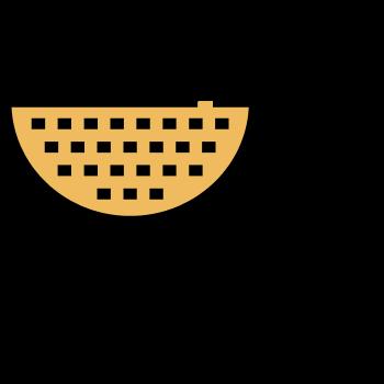 Icono de un colador