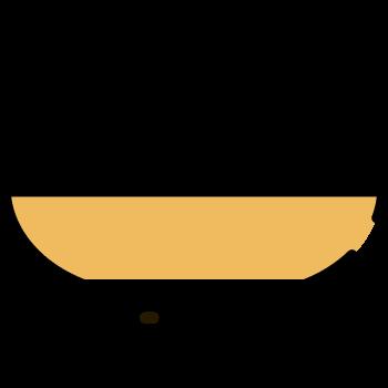 Icono de merengues en bowl