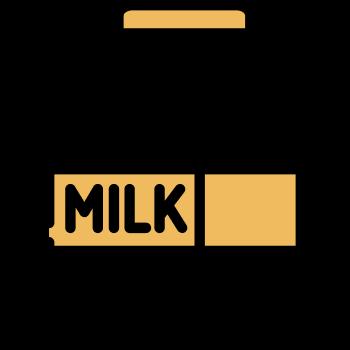Icono de un envase de leche