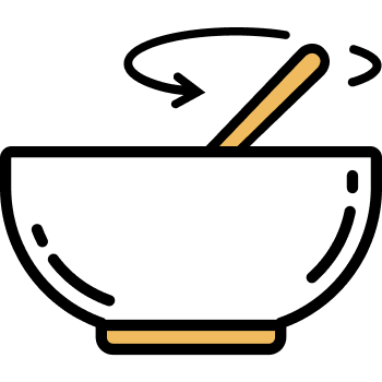 Icono de un bowl