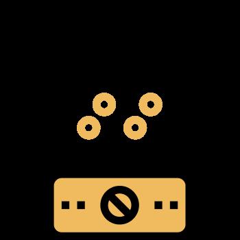 Icono de un procesador de alimentos