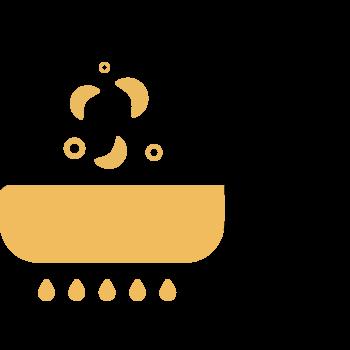 freir la cebolla en la margarina Sello de Oro