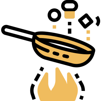 Freír cebolla