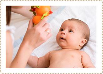 Bebés en estimulación temprana